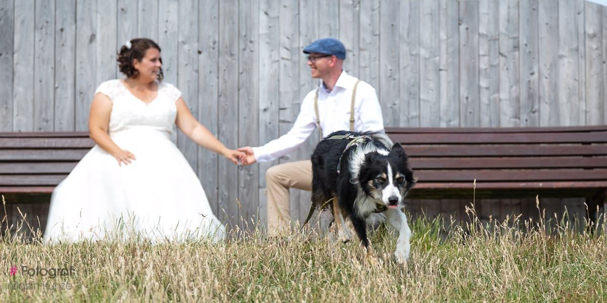 After Wedding Fotoshooting am Strand von Sankt Peter Böhl