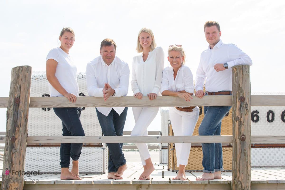 Familien Fotoshooting am Strand von St Peter Ording